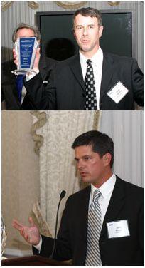 Caterpillar's Dr. John Pompe and Chestnut Global's Dave Sharar